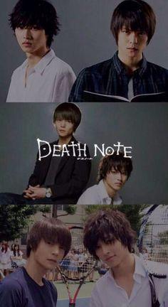 "Kento Yamazaki, Masataka Kubota, Hinako Sano.  J drama series ""Death Note"",  [Ep. w/Eng. sub] http://www.dramatv.tv/search.html?keyword=Death+Note+%28Japanese+Drama%29"