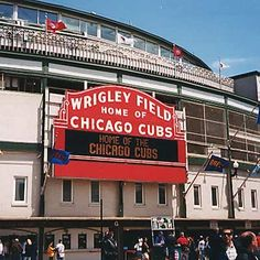 Wrigley Field home to the Chicago Cubs!