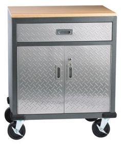Mastercraft Small Metal Garage Cabinet | Canadian Tire $249.99