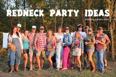 Redneck Party Ideas - Costumes, Decor, and Games