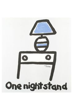 Todd Goldman One Night Stand Lithograph