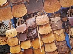 Leren tassen in Marokko - Misslipgloss.nl