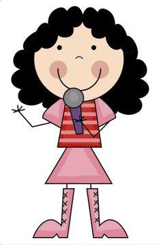 *✿**✿*PALITOS*✿**✿* Holly Hobbie, Rock Star Theme, Stick Figure Drawing, Children Sketch, Felt Templates, Stick Art, Cute Clipart, Kids Room Art, Modern Cross Stitch Patterns