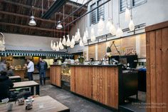 interior , Wine Food Market, Prague, restaurant, Italian, Rony Plesl, design, light