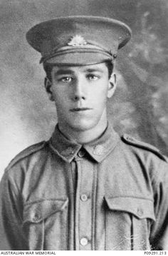WWI, 16 Feb 1917, Pt Leslie Norman Davenport was KIA near Albert, France. He has no known grave and is commemorated on the Villers-Bretonneux Memorial, France. He was 20 years old. -AWM