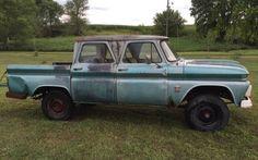 Crazy Crew Cab: 1964 Chevrolet C10 #Trucks #Chevrolet - http://barnfinds.com/crazy-crew-cab-1964-chevrolet-c10/
