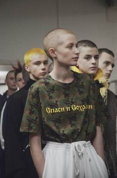exclusive: go backstage at gosha rubchinskiy's fall/winter 16 show - Design Diy Mode Outfits, Sport Outfits, Fashion Outfits, Fashion Clothes, Streetwear, Sport Fashion, Fashion Show, Fashion Design, Bold Fashion