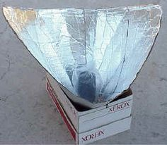How to Make and Use the Solar Funnel Cooker