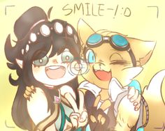 Smile! by winterout1 on DeviantArt