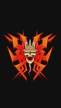 Id Software, Doom Game, Assassins Creed Art, Gamer T Shirt, Video Game Characters, Video Game Art, Skull Art, Cool Wallpaper, Destiny