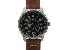 Aristo Fliegeruhr 3H80 einer Offiziersuhr nachempfunden Pilotenuhr Beobachteruhr Aristo, Ebay, Leather, Accessories, Pilots, Bowties, Patterns, Jewelry