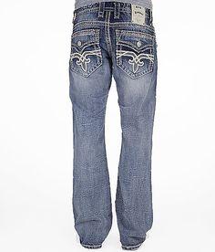 $148 Rock Revival Lewis Boot Jean