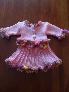 Ravelry: American Girl Doll Classic Suit (Sweater and Skirt) pattern by Elaine Phillips