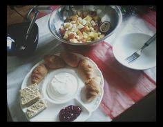 Zdravé raňajky. .:)