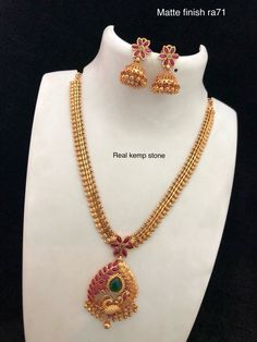 Temple Jewellery available at Ankh Jewels for booking WhatsApp on 1 Gram Gold Jewellery, 18k Gold Jewelry, Gold Jewellery Design, Temple Jewellery, Gold Jewelry Simple, Fashion Jewelry, Jewels, Jewelry Holder, Jewelry Shop