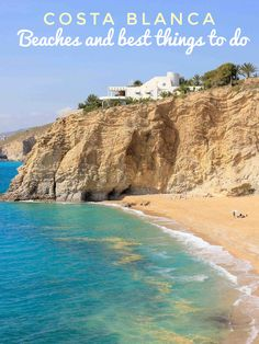 In this travel guide we give you all the important tips and information about the best things to do at Costa Blanca in Spain. We show you awesome pictures, the most beautiful places to spend your time, the best beaches of the white coast and where you will find fantastic accommodations. Holiday Resort, Beach Holiday, Most Beautiful Beaches, Beautiful Places, San Juan Beach, Alicante, Small Castles, Tourist Center, Natural Park