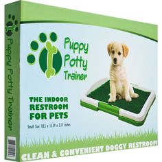 Petmaker Puppy House Breaking Potty Trainer Indoor Grass Patch Mat Dog Restroom  #Petmaker #Potty #Trainer #Puppy #Dog