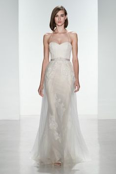 """Christos Bridal """"Heidi"""" wedding gown, available at Something White, A Bridal Boutique"""