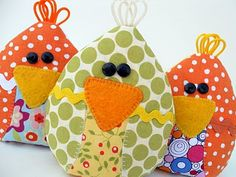 pattern and tutorial for cute chick cooling pads