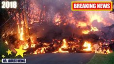 A treacherous lava flow erupting from the Kilauea volcano on Hawaii's Big Island upended a picturesque and peaceful community. Hawaii Volcano, News Us, Lava Flow, Big Island Hawaii, Natural Disasters, Dark Fantasy, The Neighbourhood, Country Roads, Volcanoes