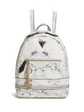 GUESS Factory Women's Teyanna Small Backpack - Fiyahwurkz Empire Inc - Frauen Taschen Pretty Backpacks, Cute Mini Backpacks, Stylish Backpacks, Guess Backpack, Small Backpack, Backpack Purse, Fashion Bags, Fashion Backpack, Fashion Handbags