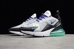 e5722164cb3a Purchase Womens Nike Air Max 270 Grape White Black Green AH6789-103 Nike  Women