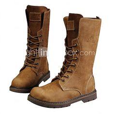 Hommes cuir véritable Bottes d'hiver haute de 2016 ? £67.23