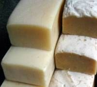 GOAT'S MILK HOMEMADE SOAP olive oil coconut oil palm oil castor oil caustic soda/lye (approximately superfat) water goats milk Natural Beauty Remedies, Essential Oils Soap, Goat Milk Soap, Soap Recipes, Home Made Soap, Beauty Bar, Soap Making, Goats, Homemade