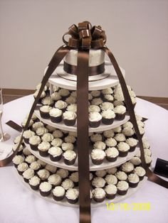 wedding cakes pictures | WeddingCakes-My daughter's going to have a Cupcake Wedding Cake. I've never seen one in person. Can't wait.