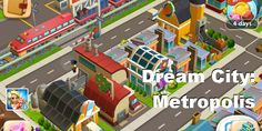 Dream City: Metropolis is a free city building app for #iPhone, iPad and Android that is very entertaining. Warning: It's gameplay is highly addictive and it is an app you cannot put down. #iPhone #iPad