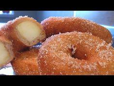 Яблочные пончики . Очень вкусно! - YouTube