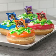 How-to Make Teenage Mutant Ninja Turtles Slime Donuts @anhack