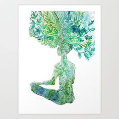 breathe Art Print by anneamanda - $18.00