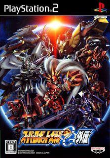 Super Robot Taisen Original Generation Gaiden JPN ps2 iso