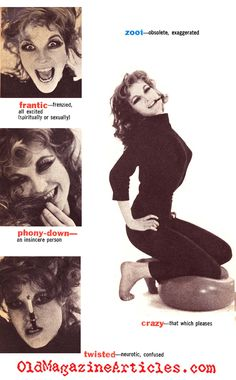The Slang of the Beatnik Generation (Pageant Magazine, 1960)