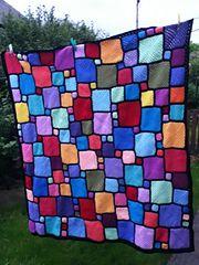 Ravelry: nittynora's Roger's blockwork blanket