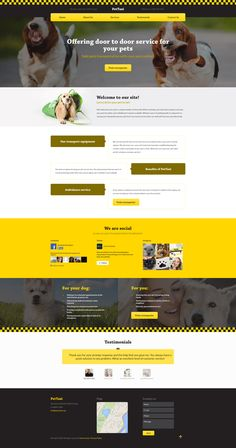 Coming Soon: Pet Taxi Responsive Template. Check Out its release: http://www.templatemonster.com/?utm_source=pinterest&utm_medium=timeline&utm_campaign=comsoon