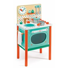 Stylish First Toy Kitchen for Children from Age 3