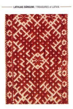 Latvian folk ornament