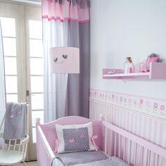 vorhang/gardinen, wolken grau/weiß 140 x 240 cm | products - Gardinen Kinderzimmer Rosa Grun