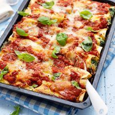 Cannelloni med ricotta och spenat - recept   Mitt kök
