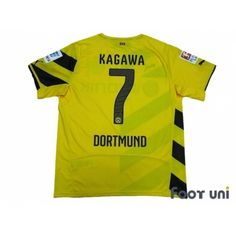 Borussia Dortmund 2014-2015 Home Shirt  7 Kagawa Bundesliga Patch Badge w  tags 2ce0c14b5