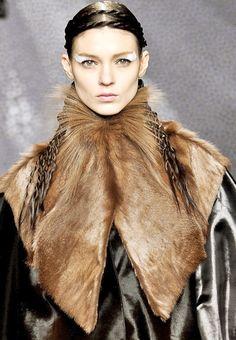 Fendi Fall 2012 Milan Fashion Week #fur