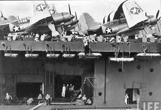 Helldivers on US carrier; Mission4Today › ForumsPro › R & R Forums › Photo Galleries › WWII Aircraft Photo's › USA