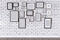 3D render of a picture on a wall by RichmanStudio on @creativemarket