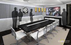 WB - Warner Bros. Game e3 Exhibit Design Concept on Behance