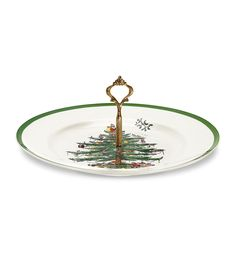 Spode Christmas Tree Single Tier Tidbit Tray >>> Check out the image by visiting the link. (This is an affiliate link)