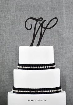letter w wedding cake toppers - Google Search