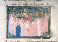 Roman de la Rose, MS G.32 fol. 4v - Images from Medieval and Renaissance Manuscripts - The Morgan Library & Museum