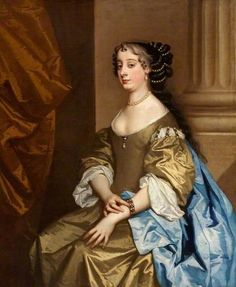 Barbara Villiers (1641–1709), Countess of Castlemaine and Duchess of Cleveland, Granddaughter of Barbara St John  by Peter Lely